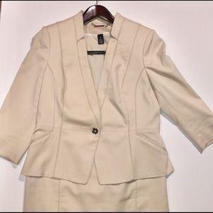 WHBM Summer suit jacket size 10